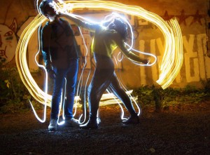 Lightpainting Fotobox