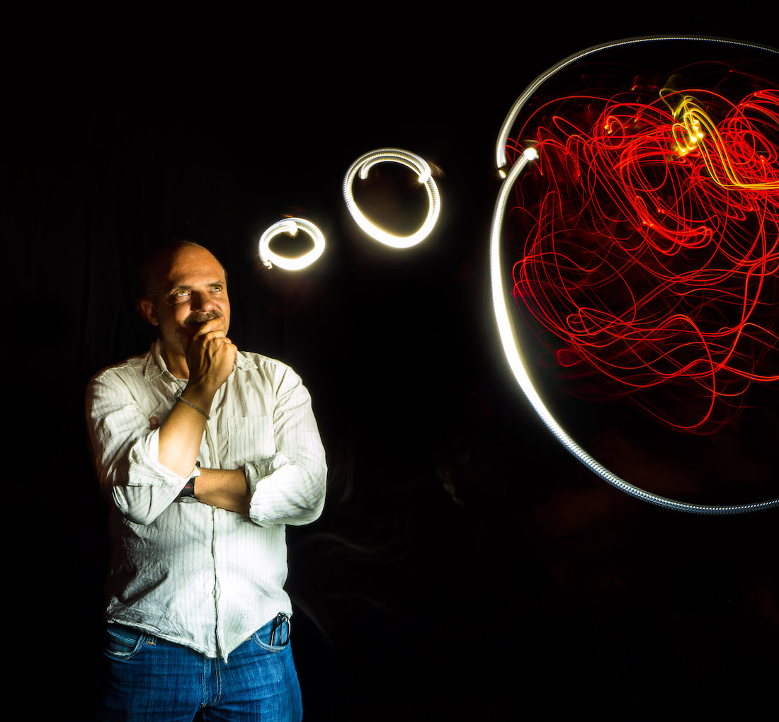 Lightpainting-Fotobox Photo Booth Event Munich
